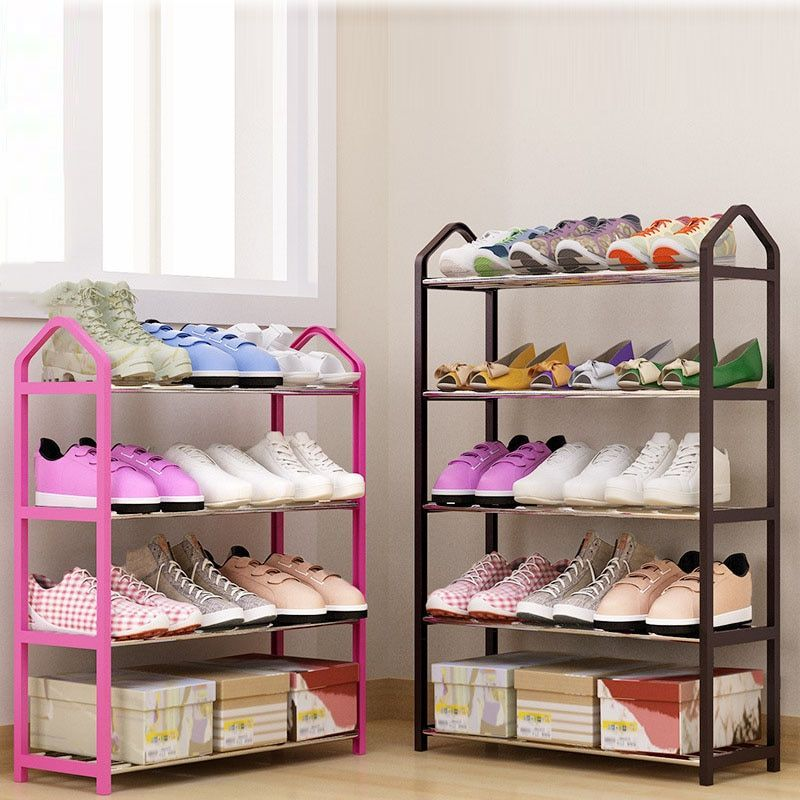 Multi Layers Metal Iron Simple Shoes Shelf Student Dormitory Diy