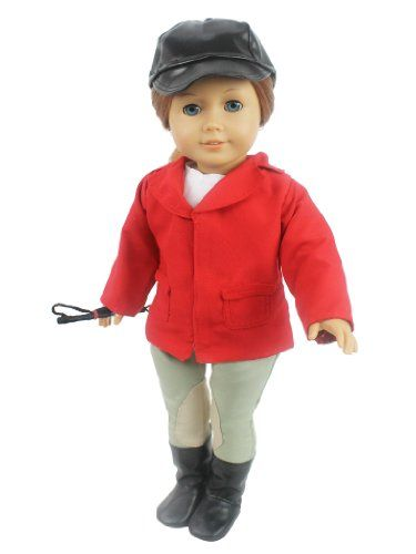 Doll Clothes for American Girl Dolls: 6 Piece Horse Riding ...