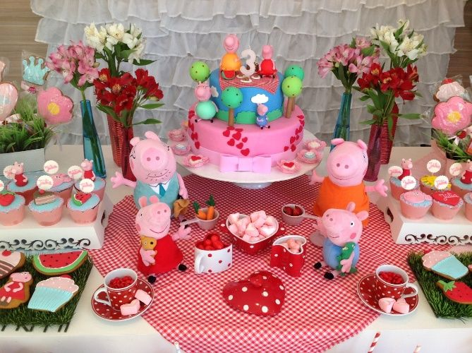 1000 ideas para tu cumple ideas para decorar tu fiesta - Decoracion mesas infantiles ...