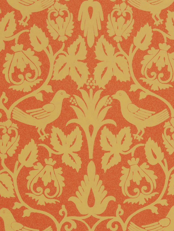 Clarence Bird design, Wallpaper, Wall coverings