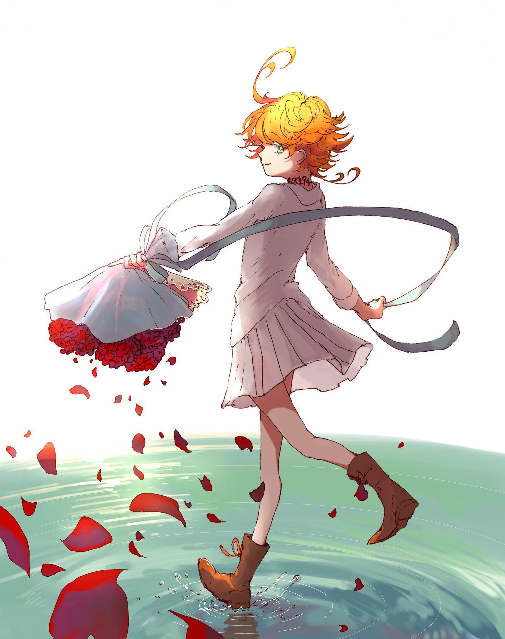 Emma The promised Neverland (con imágenes) Arte de