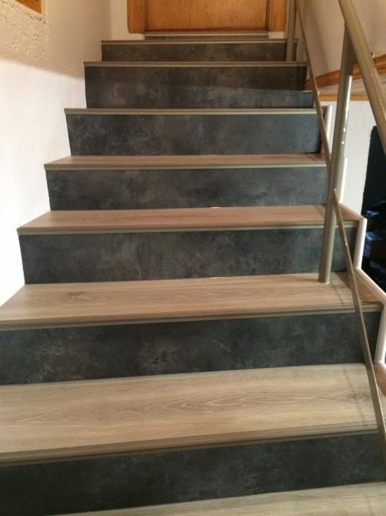 Maytop tiptop habitat habillage d escalier r novation d 39 escalier re - Escalier helicoidal bois metal ...