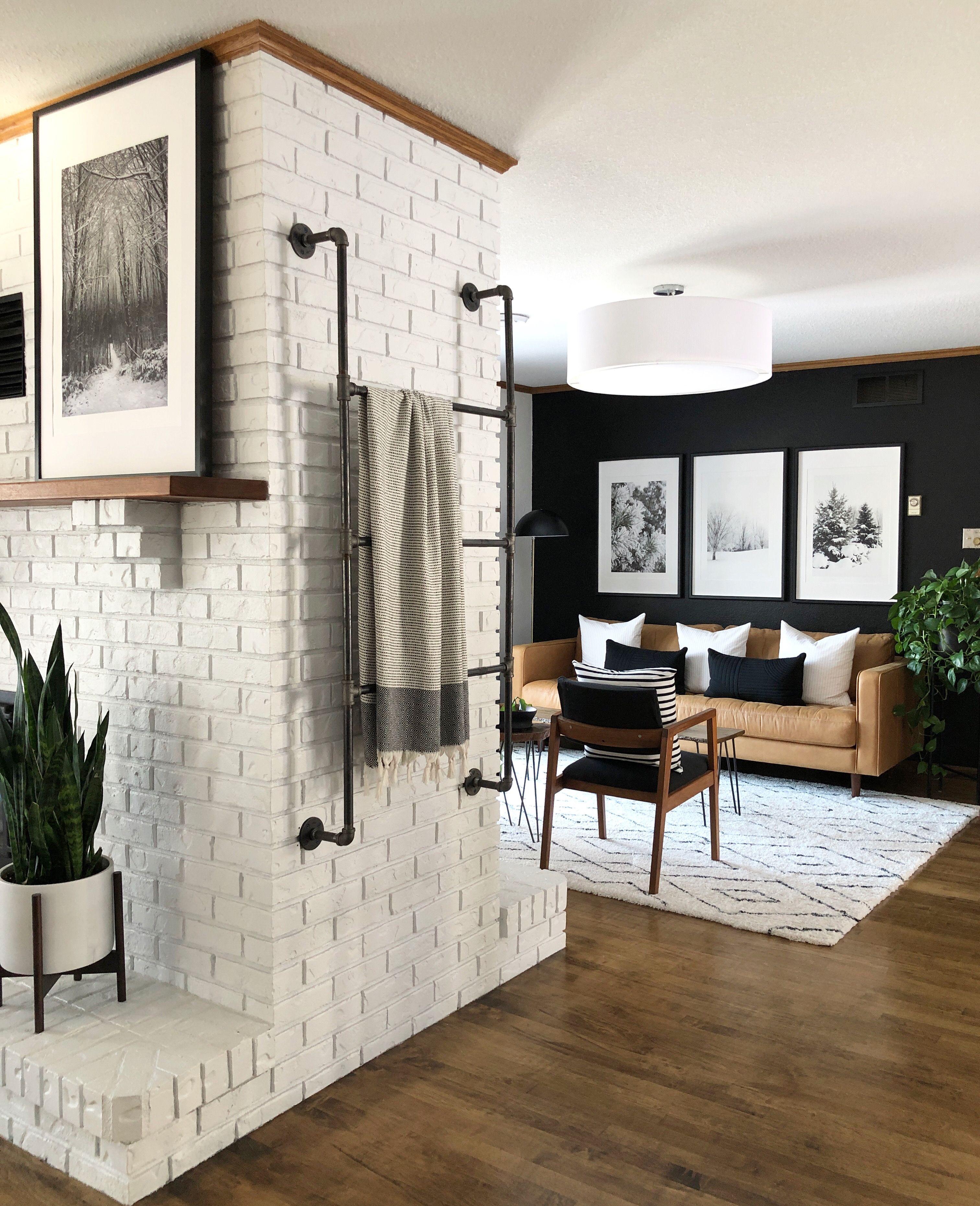 kate chipinski designs in 2020 mid century modern living on beautiful modern black white living room inspired id=47181