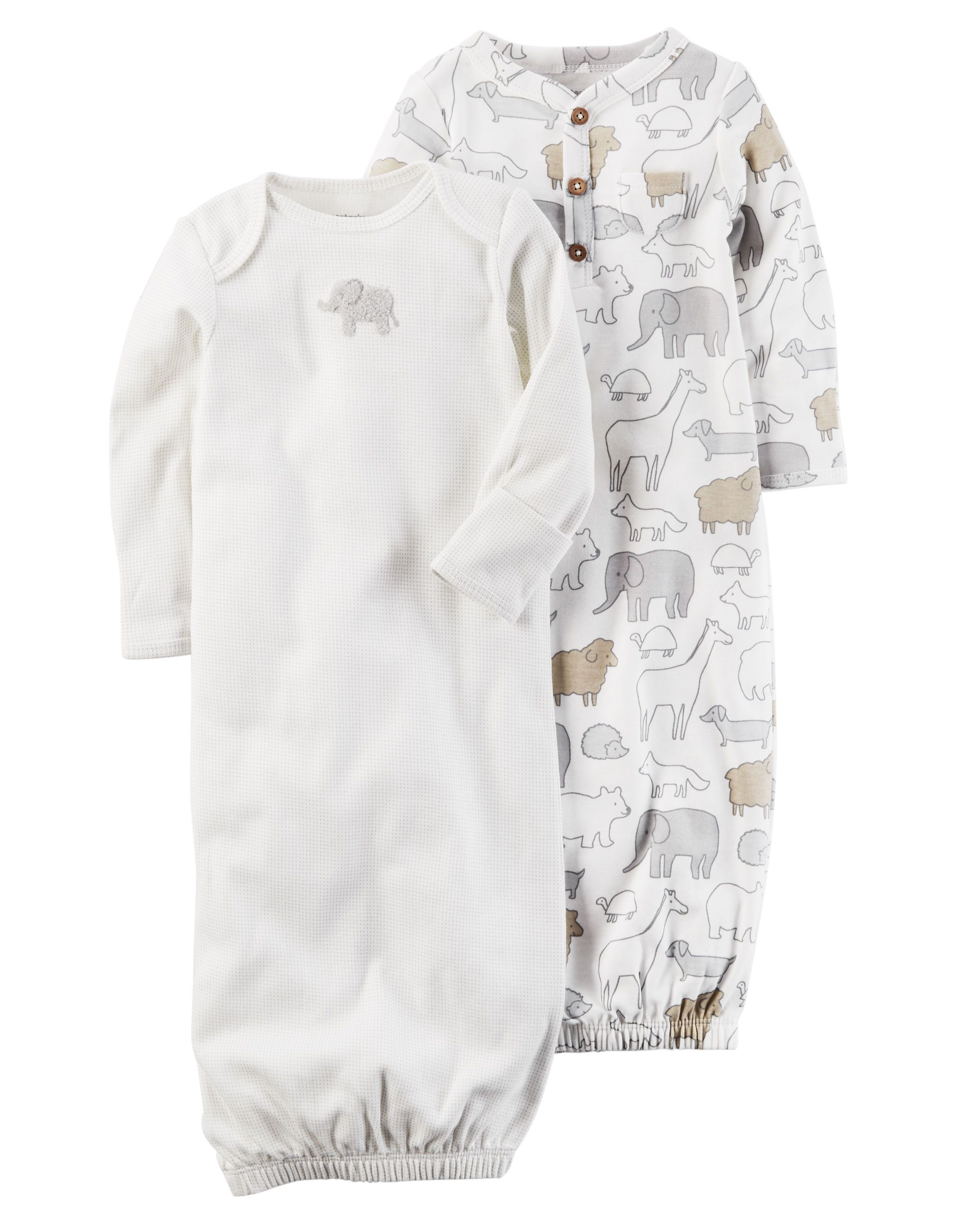 2-Pack Babysoft Sleeper Gowns | Babies clothes and Babies