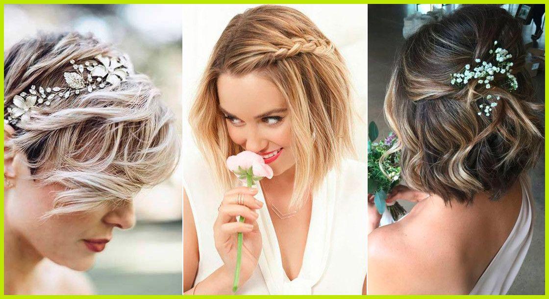 Idee de coiffure mariage cheveux court