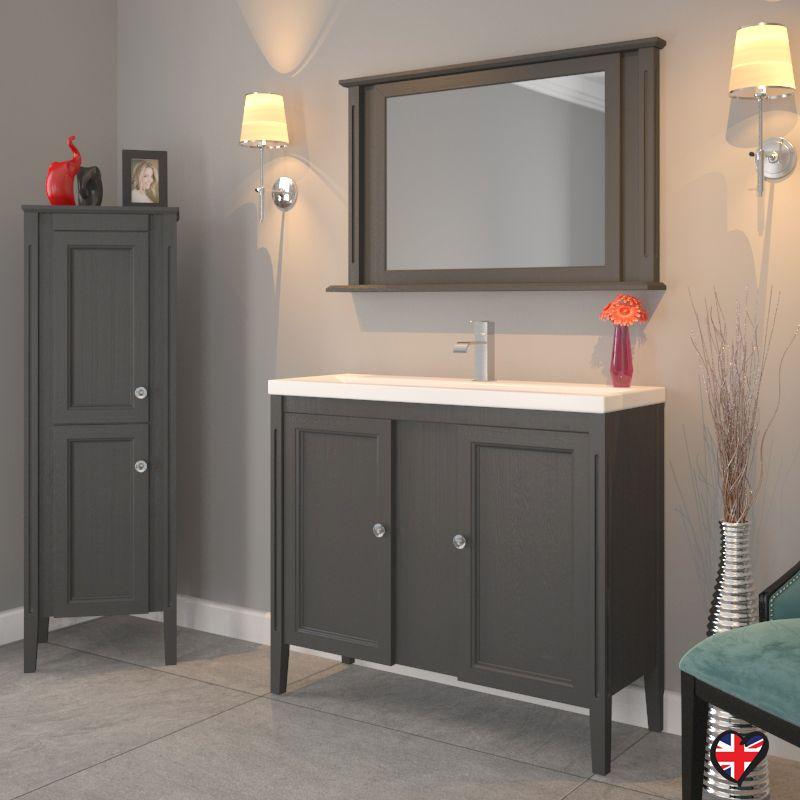 Traditional 1000mm Bathroom Sink Unit With Modern Twist In 899 Bathroom Sink Units Bathroom Vanity Units Traditional Vanity Units