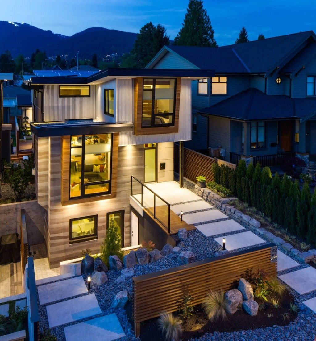 Green Home Design Ideas: Green Residence In Canada With Eco Friendly Features And