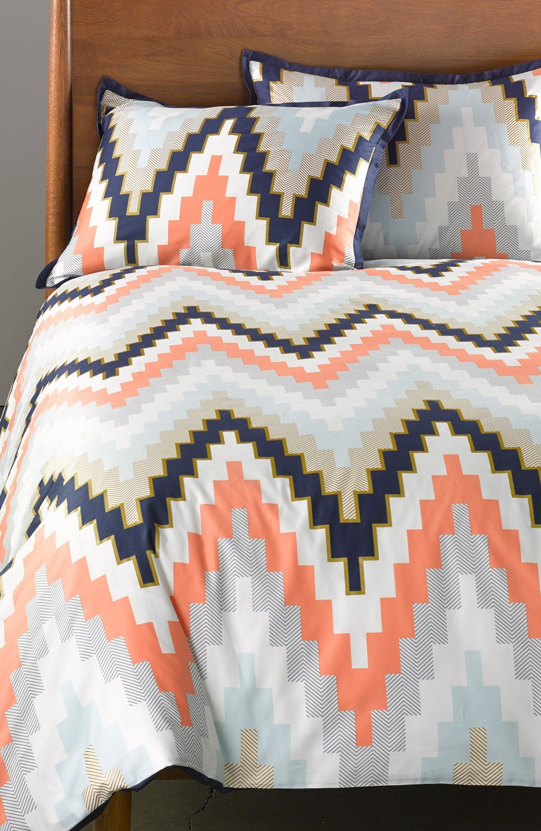 Beau Free Shipping And Returns On Blissliving Home U0027Harperu0027 Reversible Duvet Set  At Nordstrom.com. Grey Cotton Sateen Ripples With Pintucked Clusters On  This ...