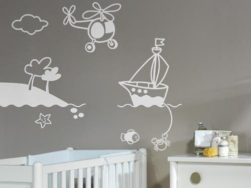 Vinilos para bebés en Proyecto Vinilo | Decoración de cuartos ...