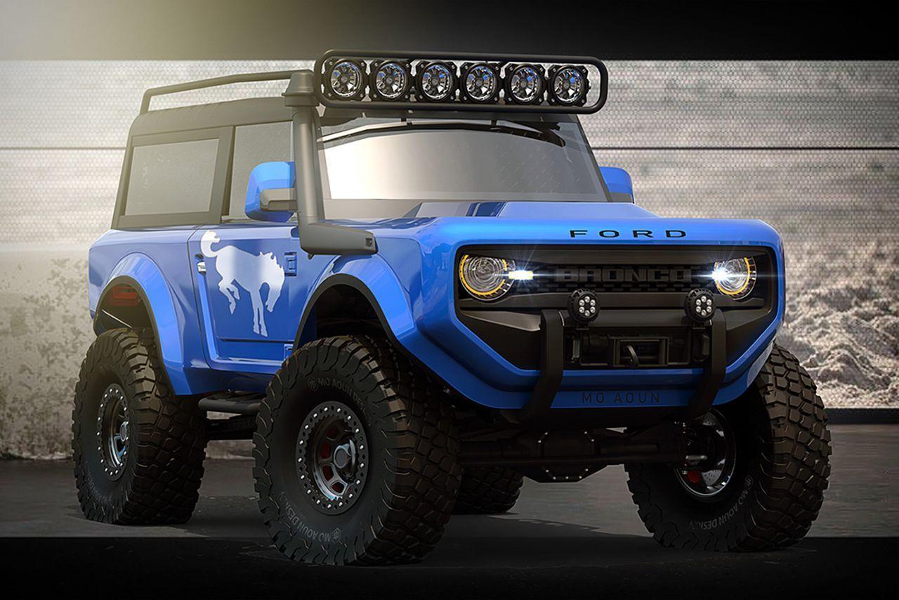 Прототип внедорожника Ford Bronco Ford bronco concept