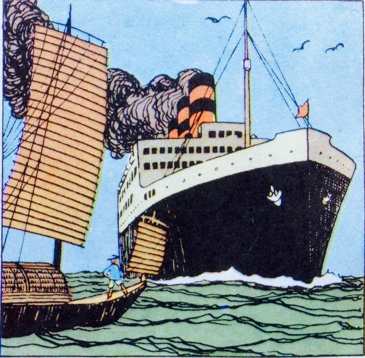 El Loto Azul - Buque SS Ranchi