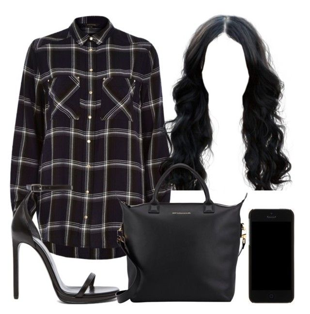 """""""Untitled #776"""" by kgoldchains ❤ liked on Polyvore featuring River Island, Yves Saint Laurent, Dolce&Gabbana and Want Les Essentiels de la Vie"""