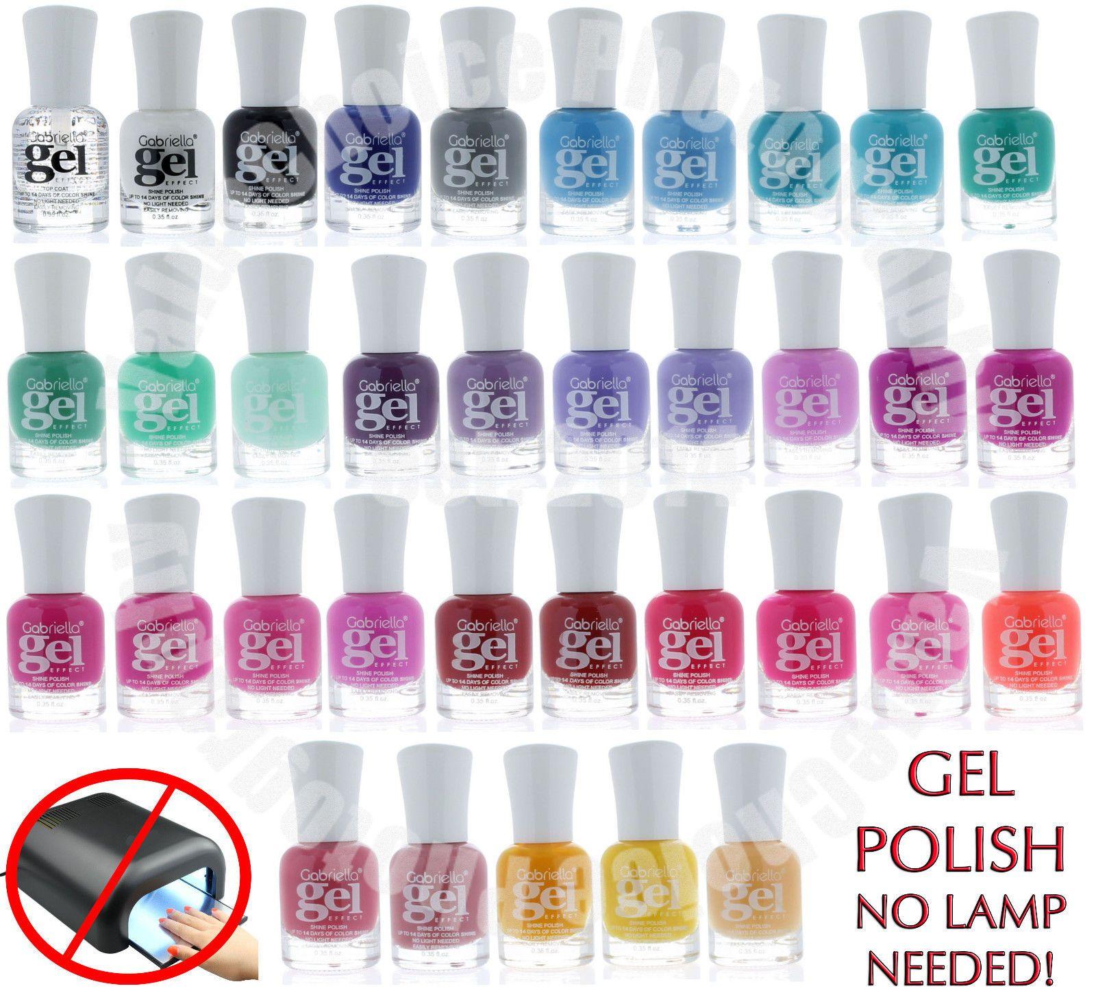 Gel Nail Polish Long Lasting Women Nair Art DIY Style Nail Polish No ...