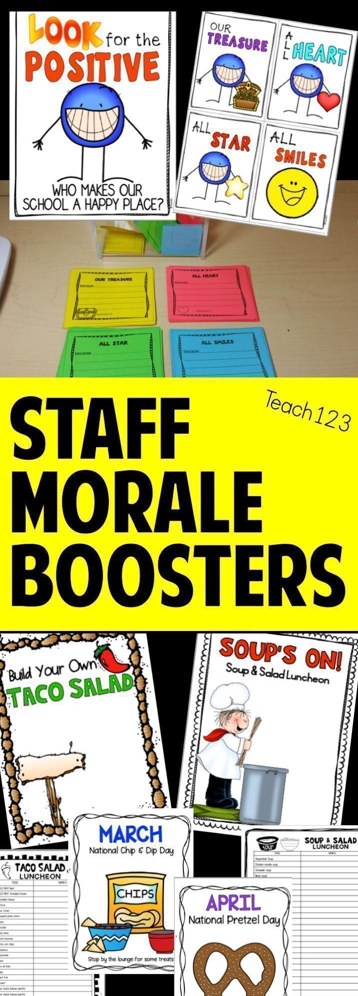School Climate - Building Community | Staff appreciation, Teacher ...