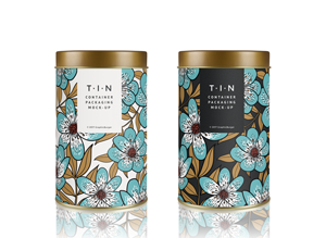 Download Mock-Ups | GraphicBurger | Tin containers, Packaging ...