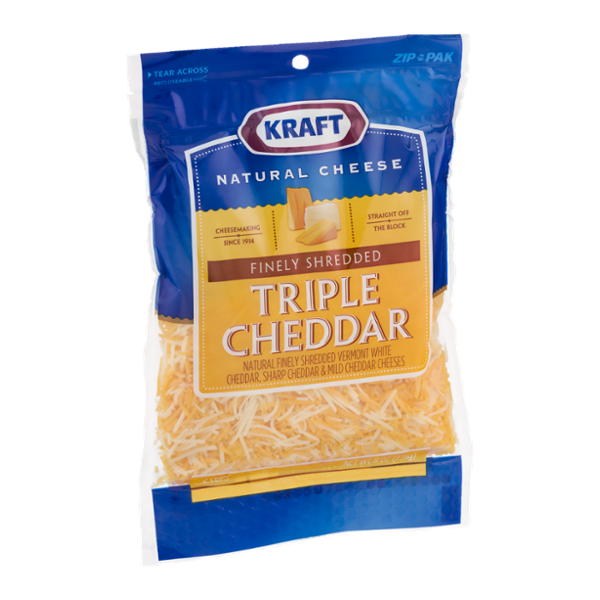 Kraft Finely Shredded Cheese Triple Cheddar Reviews Q A Influenster Natural Cheese Shredded Cheese Cheddar