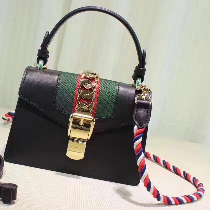 e4438cea727ac9 Gucci Sylvie Mini Bag 100% Authentic 80% Off | Authentic Gucci Handbags