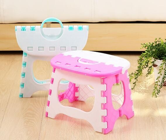 Peachy Hot New Fashion Plastic Folding Stool Ottoman Creative Squirreltailoven Fun Painted Chair Ideas Images Squirreltailovenorg