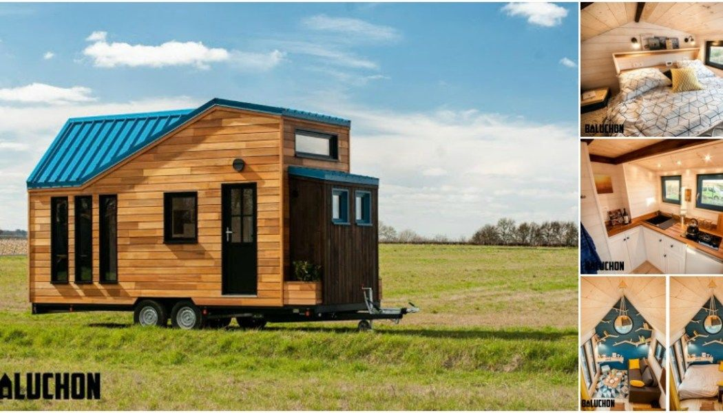 French Tiny House Builders Give Traveler an Upgraded Home Cabin