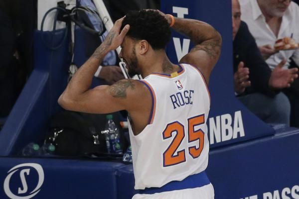 New York Knicks point guard Derrick Rose will miss the rest of the season after tearing the meniscus in his left knee, the team announced…