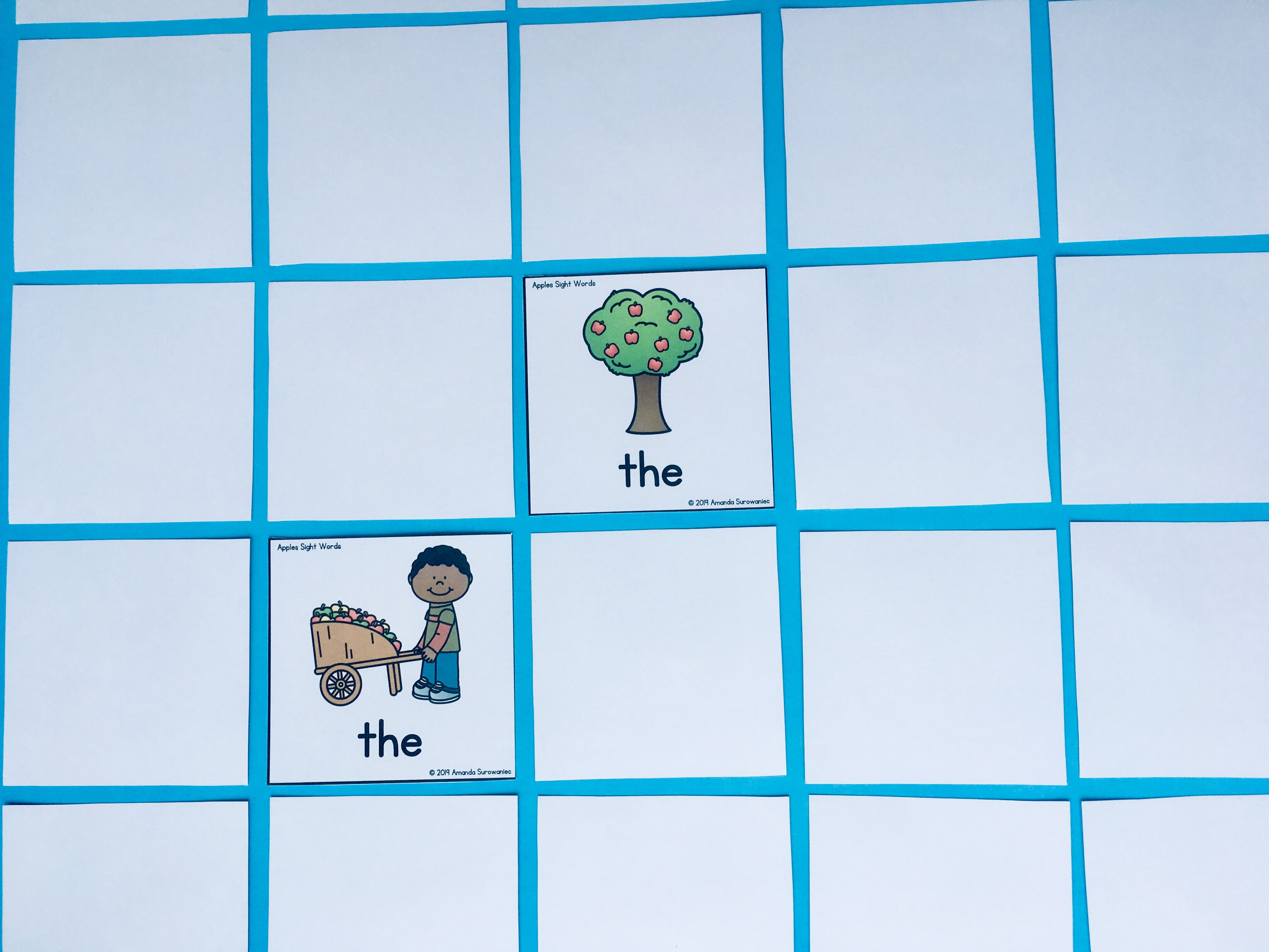 Editable Memory Sight Word Games 25 Themes For The Ye