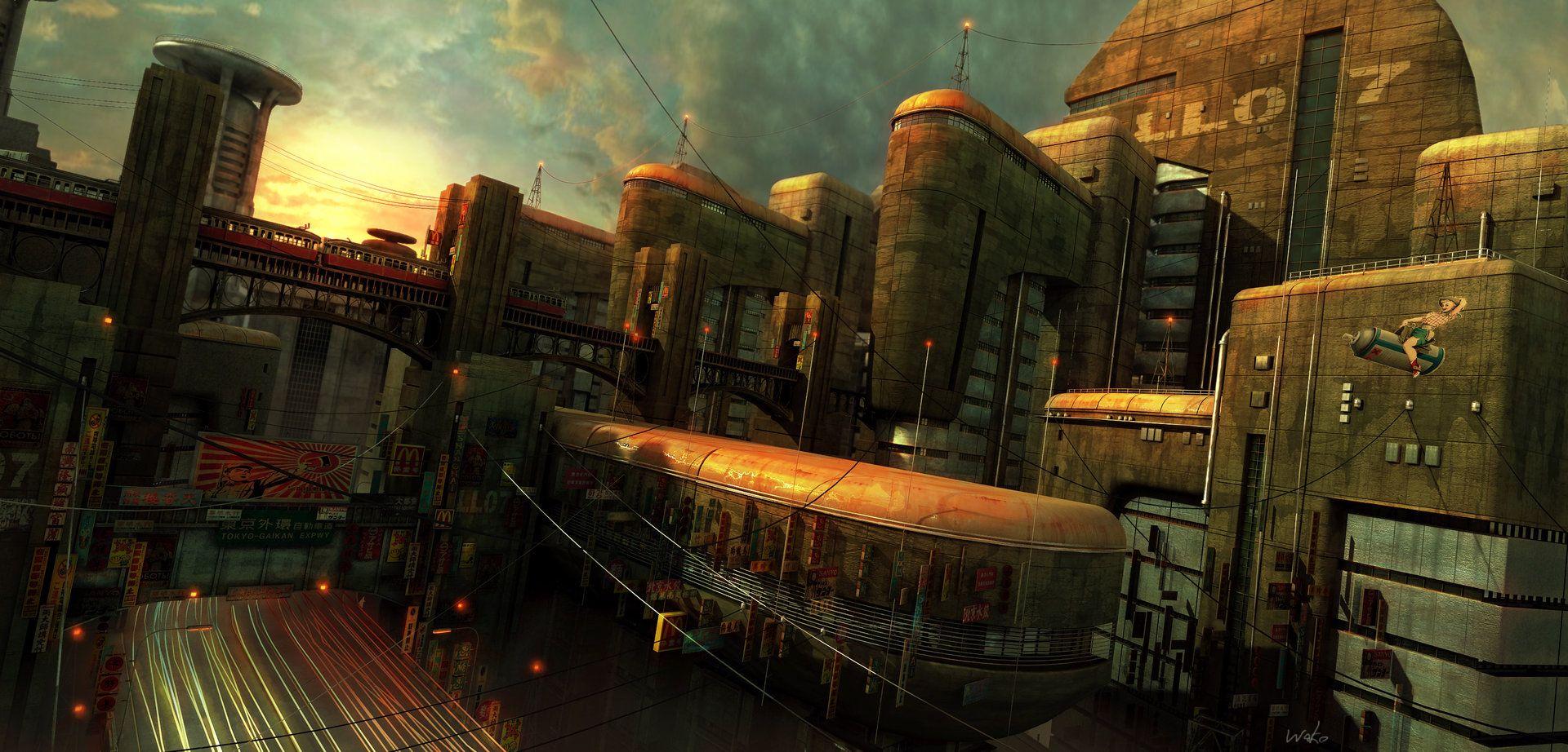 Result Dieselpunk City Steampunk And Diesel