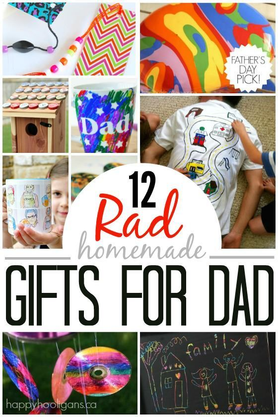 Inexpensive Craft Ideas For Kids Part - 27: 12 Homemade Fatheru0027s Day Gifts Kids Can Make. Easy, Inexpensive Homemade  Gifts For Men