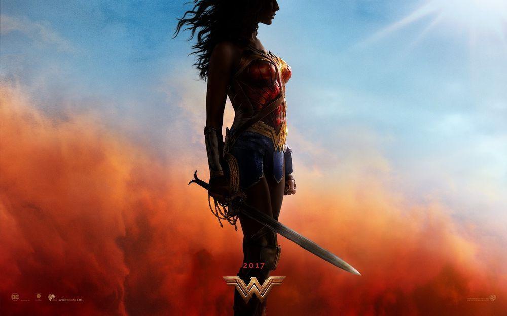 Wonder Woman Hi-Res Movie Poster