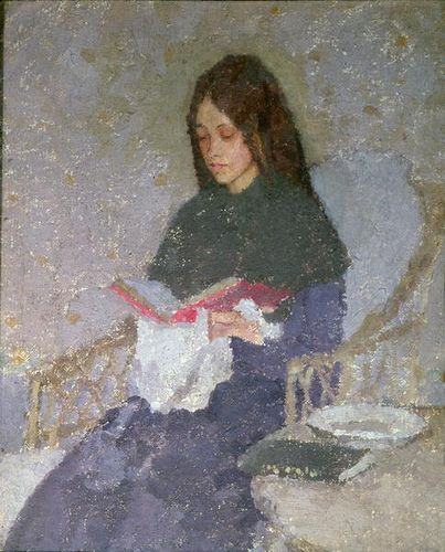 Gwen John - The precious book, date? - England