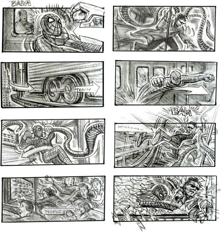 SpidermanStoryboardByChrisBuchinsky  Storyboards