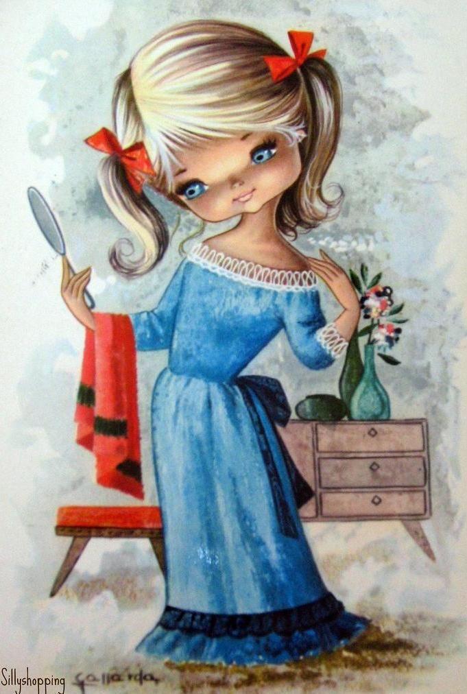 Смешная девочка картинки рисунки, февраля пожеланиями