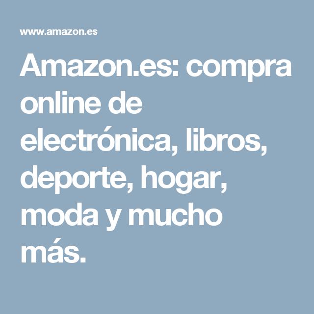 Amazon.es: compra online de electrónica, libros, deporte