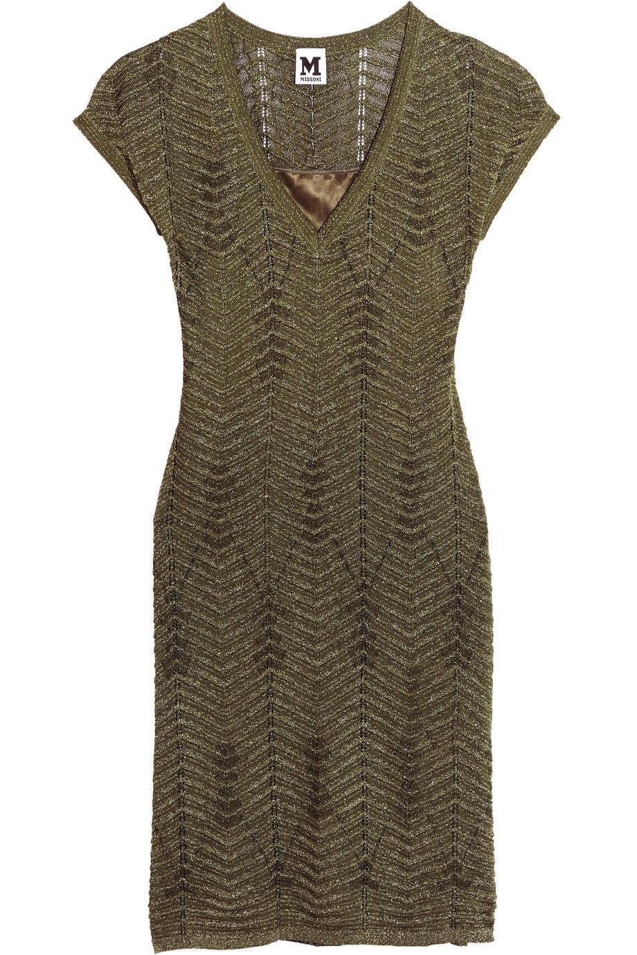 Shop on-sale M Missoni Metallic crochet-knit dress. Browse other discount designer Dresses & more on The Most Fashionable Fashion Outlet, THE OUTNET.COM