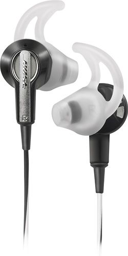 bose headphones. These are amazing. I have the green sweat proof pair :)