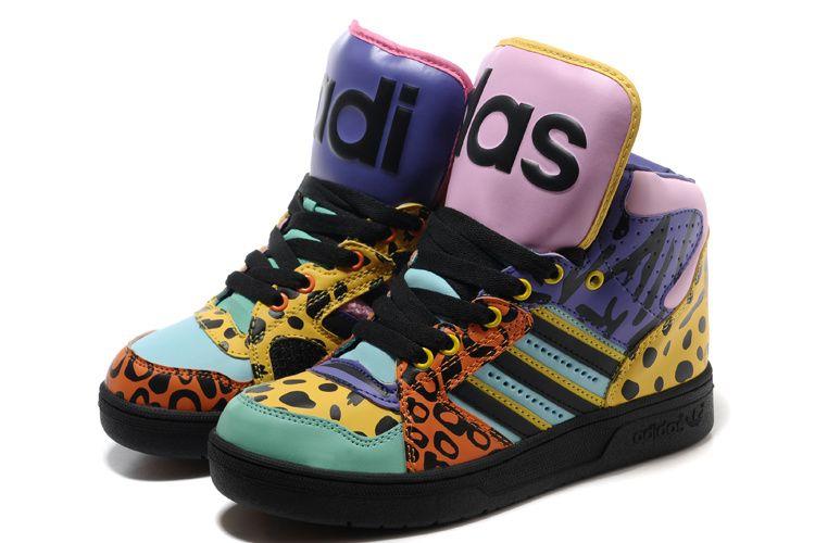 Cheap Jeremy Scott Adidas para la venta con nuevas variaciones sobre el