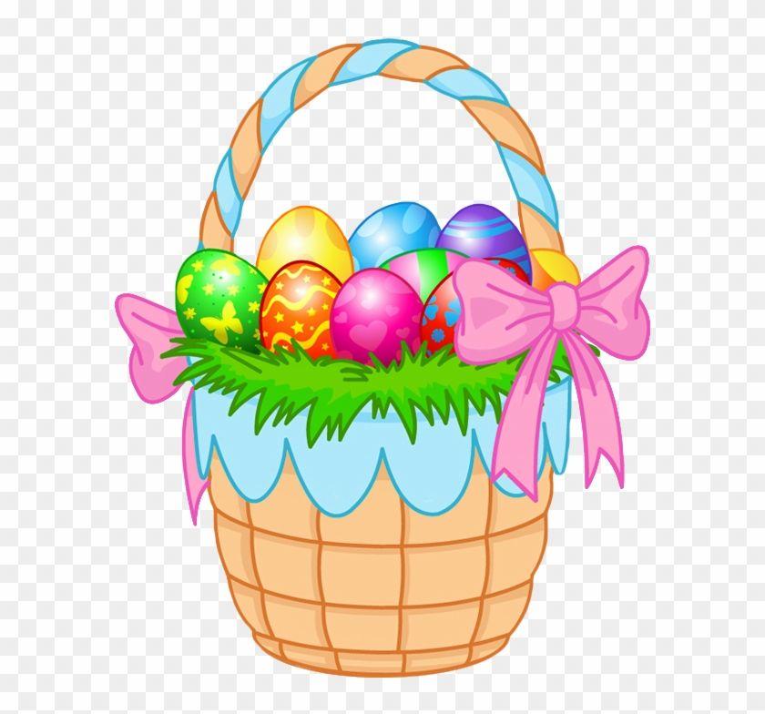 Transparent Easter Basket Png Clipart Picture Easter Egg Basket Cartoon 178397 Easter Egg Basket Easter Baskets Easter Bunny Basket
