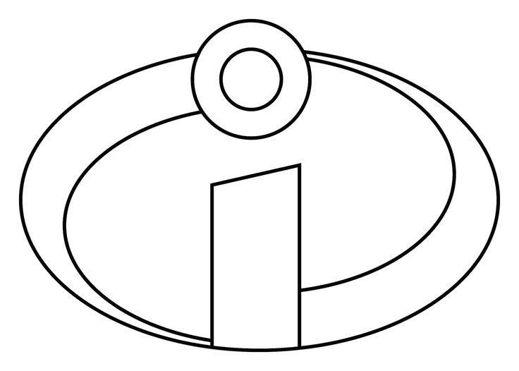the incredibles logo printable logo you can print out the logo rh pinterest com Incredibles Logo Template Printable Incredibles Logo Template Print