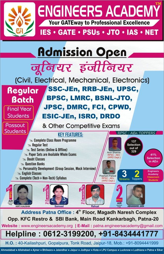 Are You Looking For Gate Coaching In Kota Visit Engineers Academy To Know More About Admission Process And Fee Structure W Gate Coaching Teaching Engineering