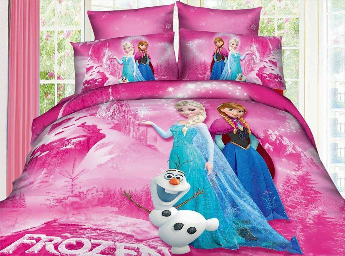 Disney frozen bedroom ideas - Frozen Kids Bedding Sets Elsa Anna Olaf Bed Sets Cotton Cheap Contain Duvet Covers Flat Sheet Pillow Cases Home Textiles