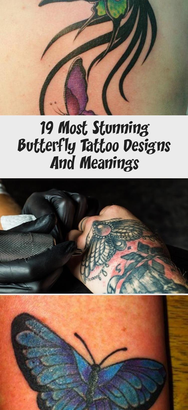 Photo of 19 atemberaubendsten Schmetterling Tattoo Designs und Bedeutungen – Beste Tattoos