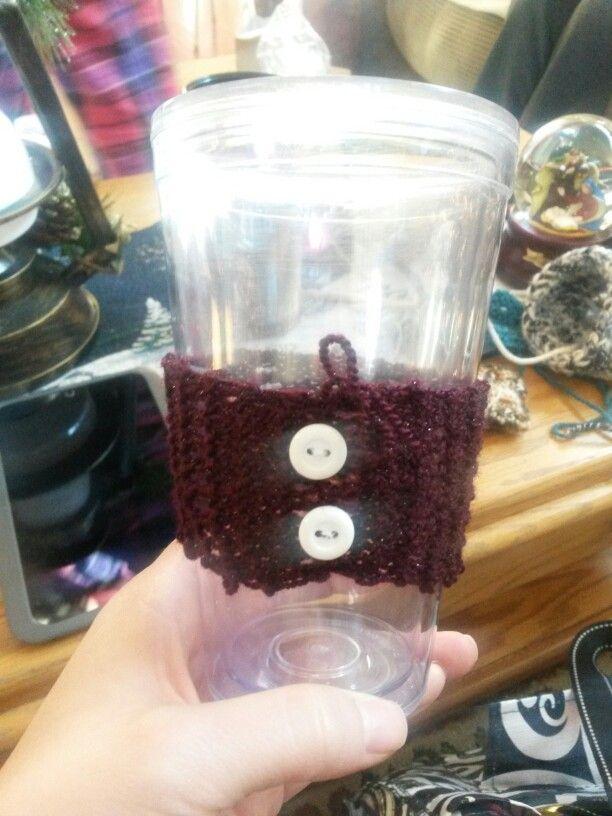 Cup cozie I made - 12/2014