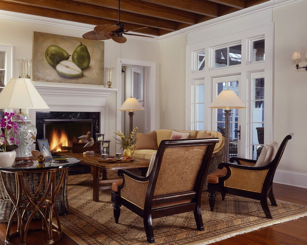 Mediterranean furniture style living room tropical with