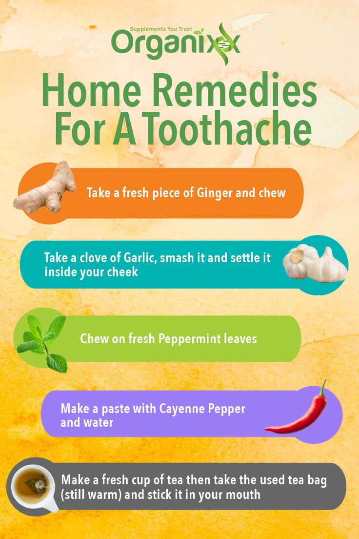TOOTHACHE REMEDY There is nothing worse than a tooth ache We love