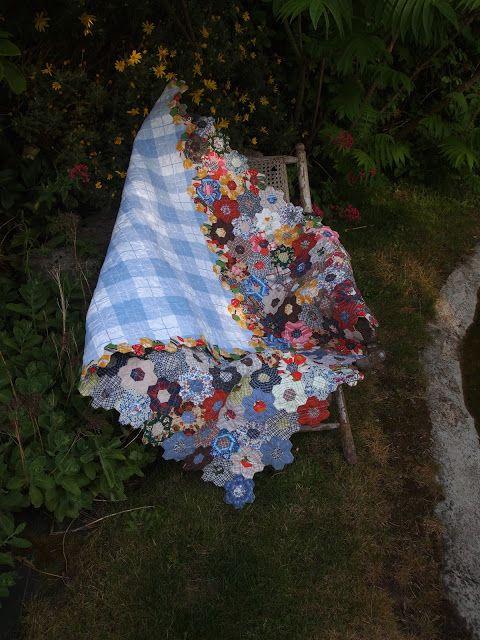 Les quilts de Cathy : Jardin de grand mère : suite