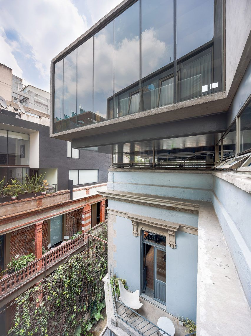Havre 77, central Juárez, Mexico City, 19th-century house restoration | architects Francisco Pardo and Julio Amezcua