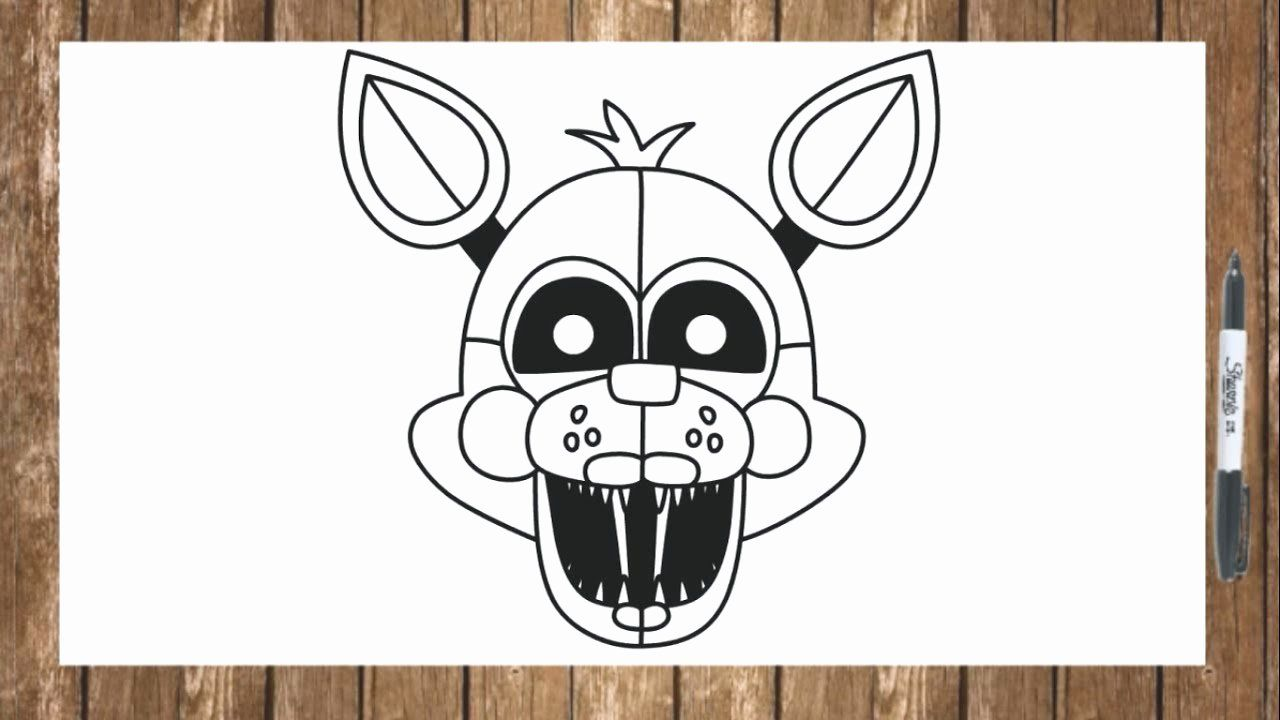 Funtime Foxy Coloring Page Fresh How To Draw Fnaf Sister Location Characters Funtime Lolbit Coloring Pages Flag Coloring Pages Creation Coloring Pages