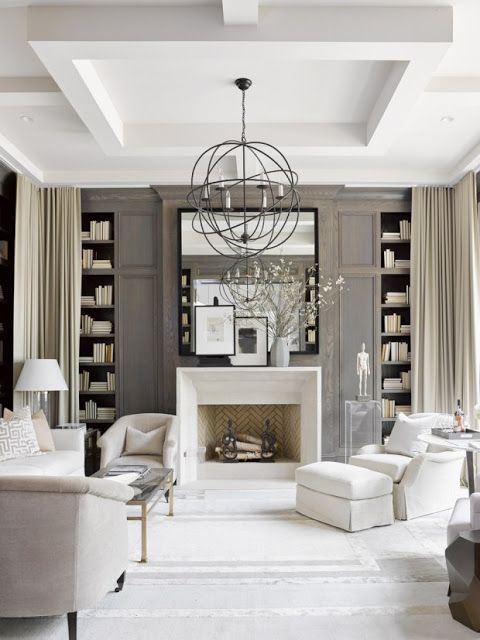 Simply White Living Room Ideas: Library Of Inspirational Images: Simply