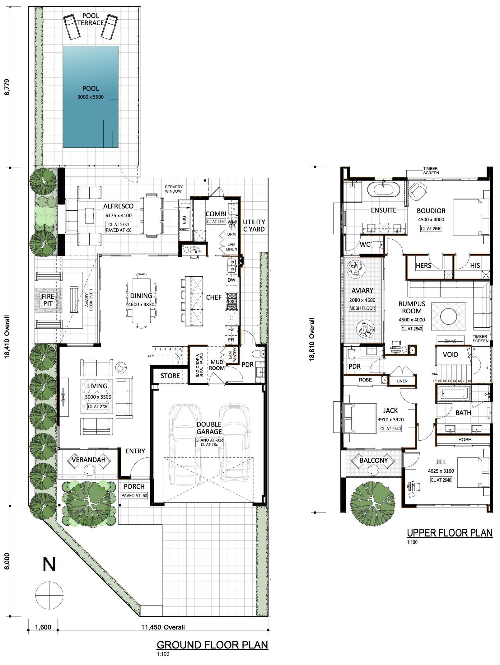 Barnhaus Residential Attitudes Home Design Floor Plans House Plans Australia Floor Plan Design
