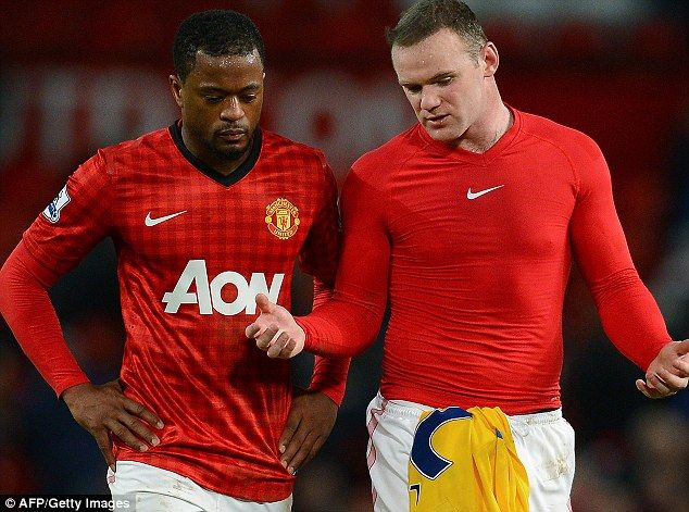Moyes has revealed that quotes attributed to Patrice Evra saying he could leave Old Trafford were misinterpreted