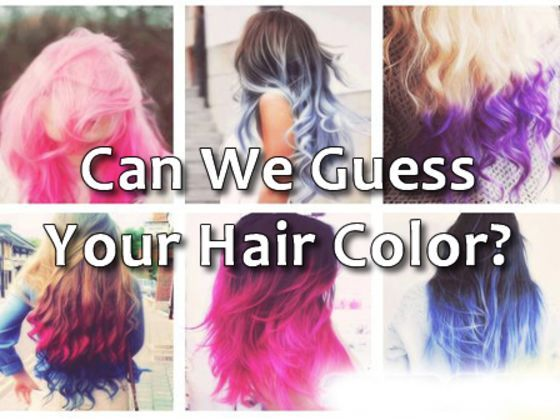 Can We Guess Your Hair Color Hair Quizzes Hair Color Quiz Hair Quiz